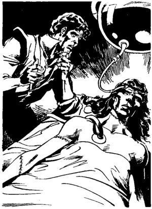 Иллюстрация из книги Мэри Шелли Франкенштейн