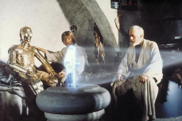 Скриншот из кинофильма Звездный войны