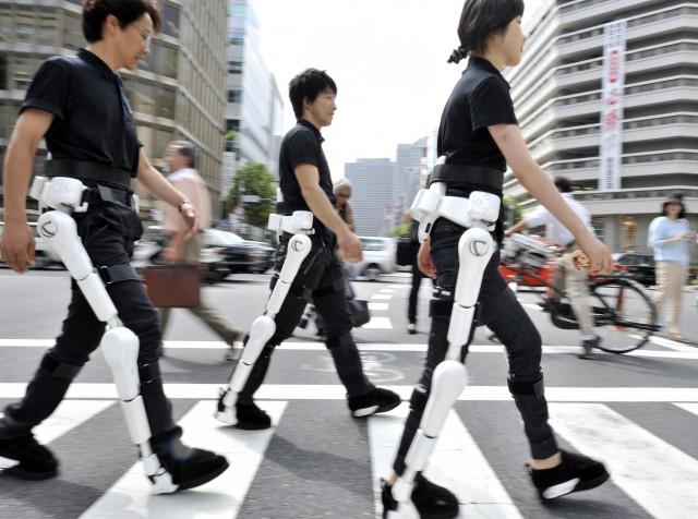 Японский экзоскелет Cyberdyne