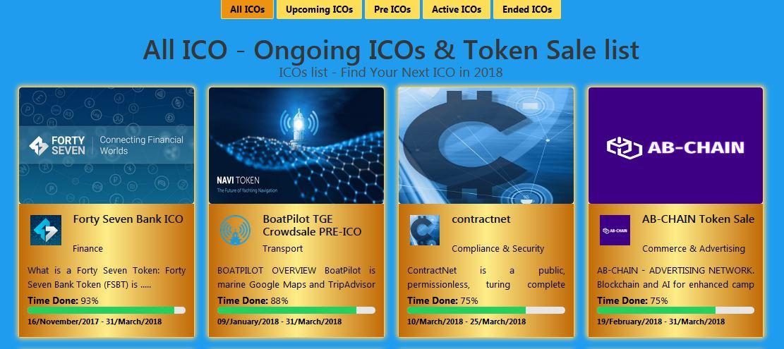 Надежный рейтинг ICO