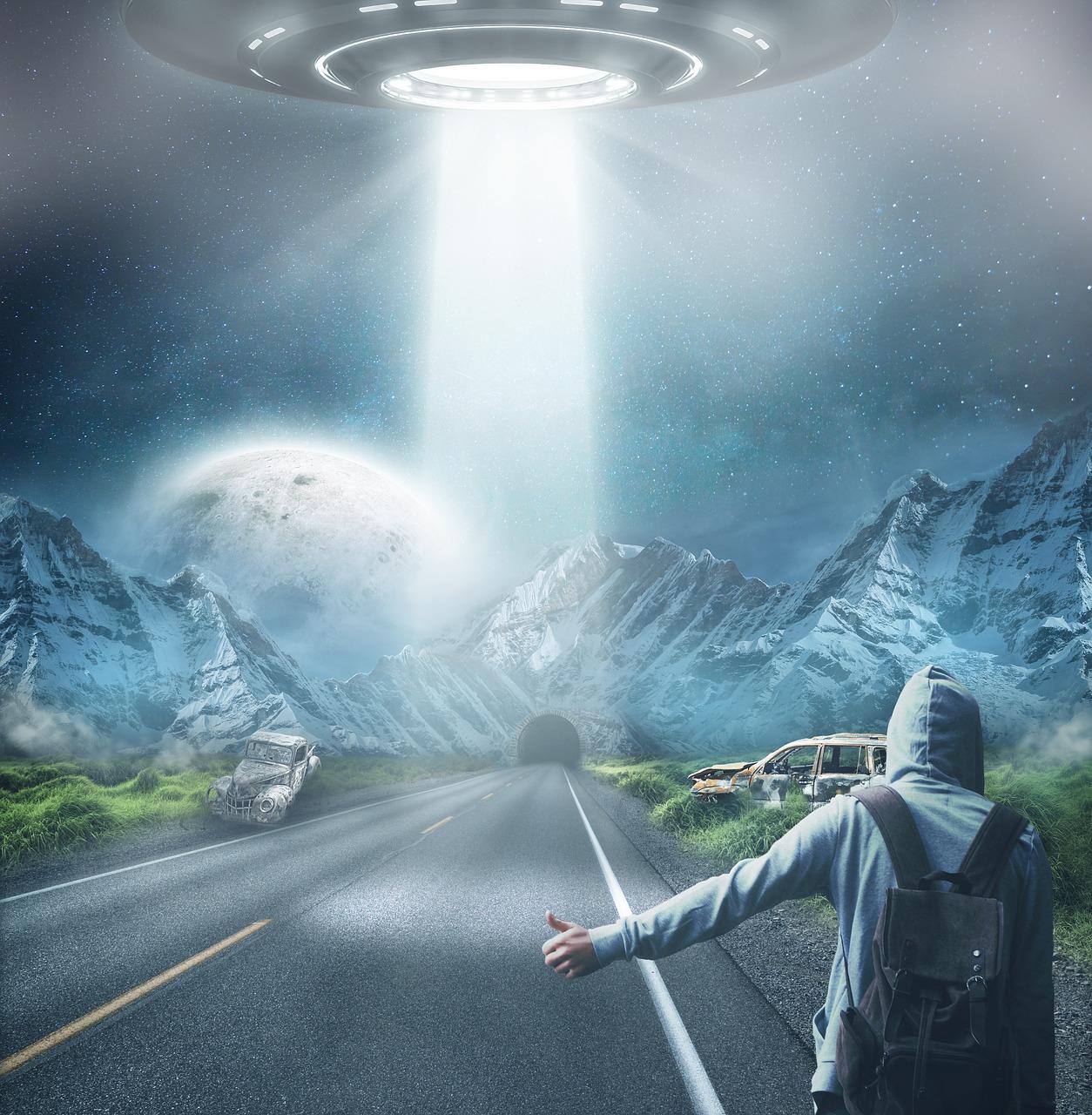 Крипточеловек - инопланетянин из будущего