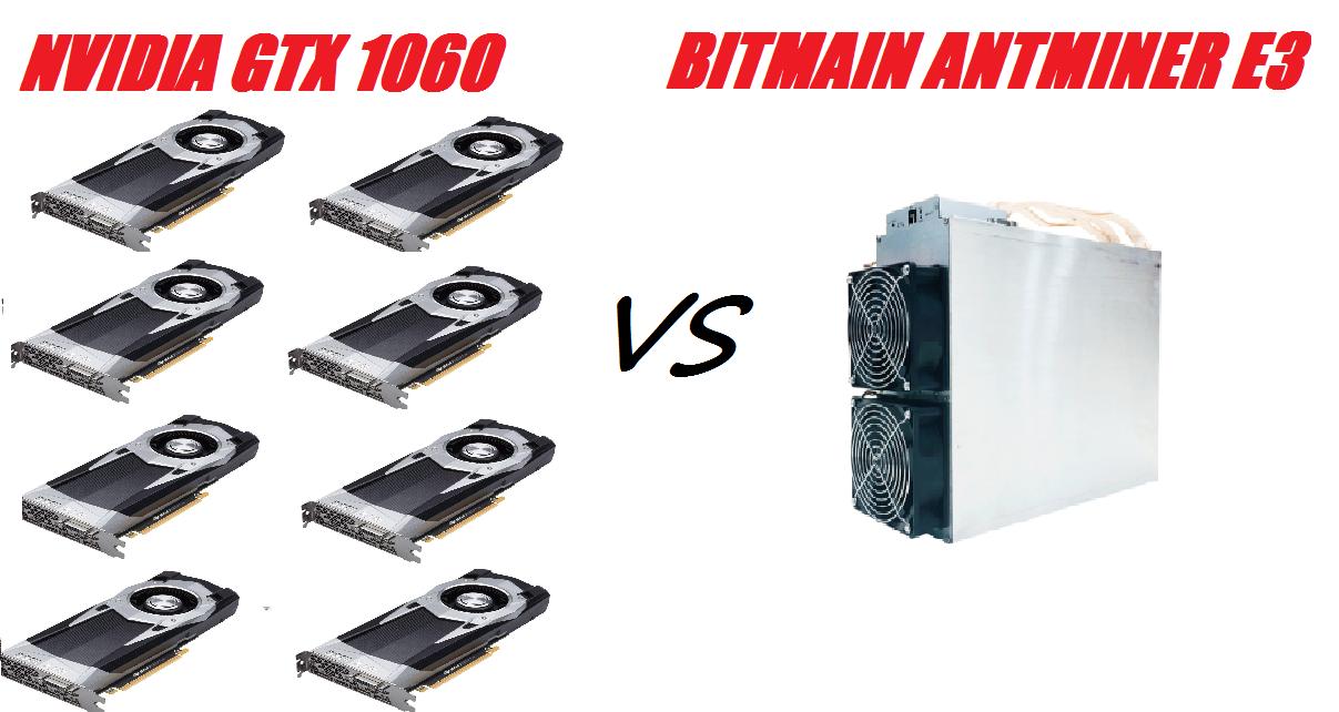 Bitmain Antminer E3 для Ethereum