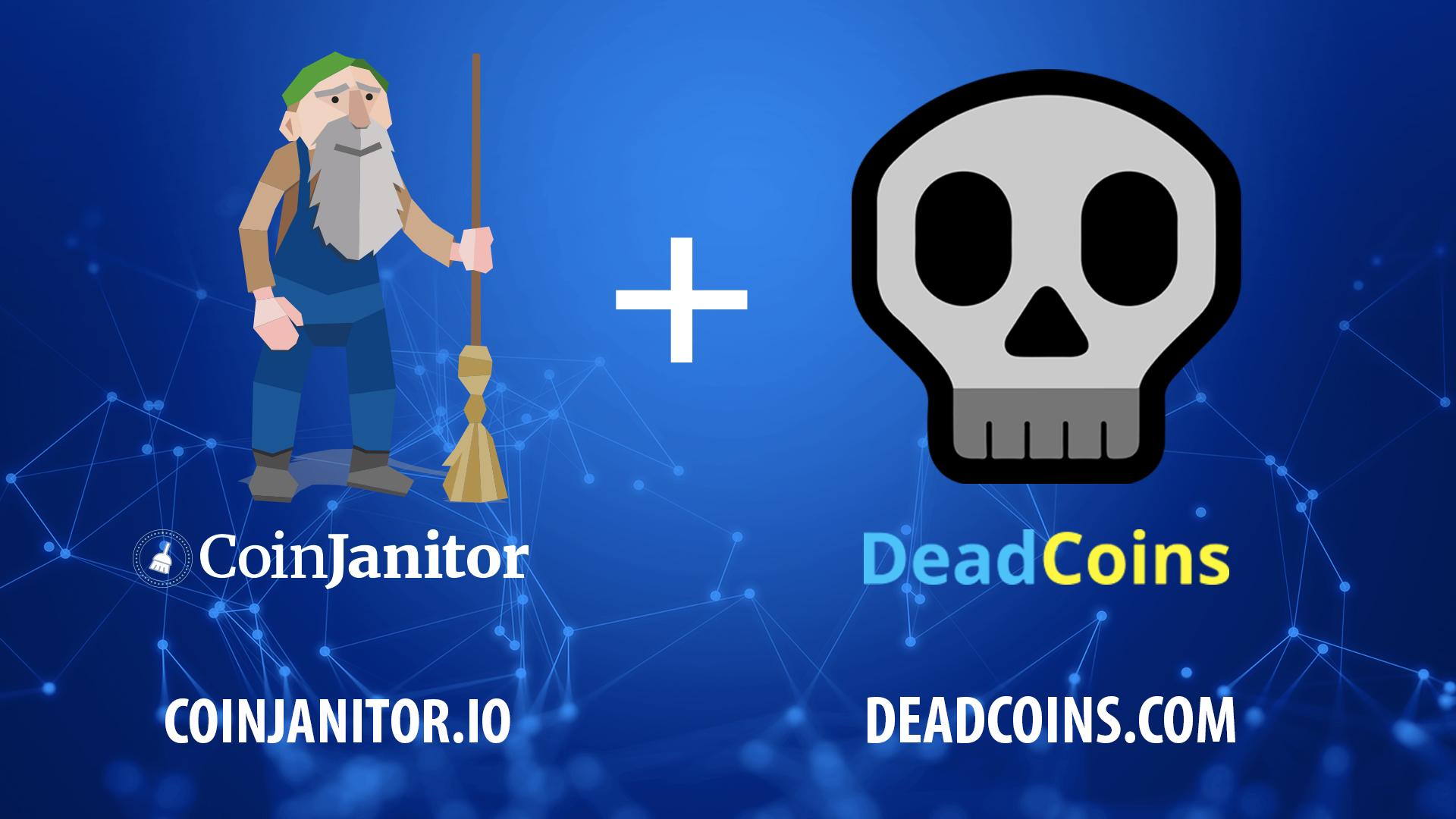 CoinJanitor и Deadcoins будут совместно утилизировать токены