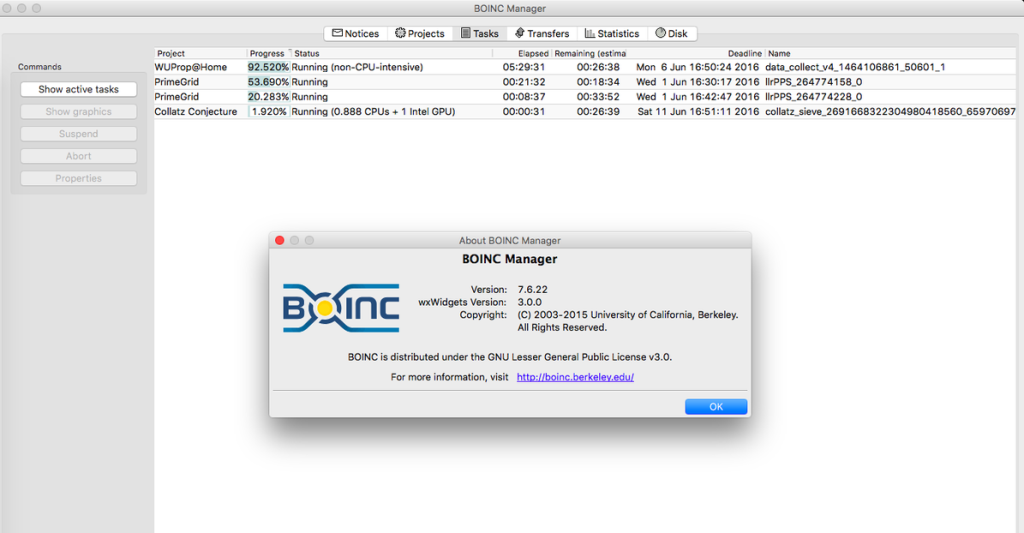 Проект BOINC