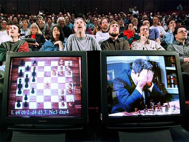 Человек против компьютера в шахматах