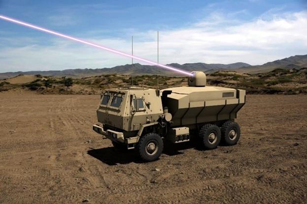 США выделили $10 млн на создание мобильного лазерного оружия