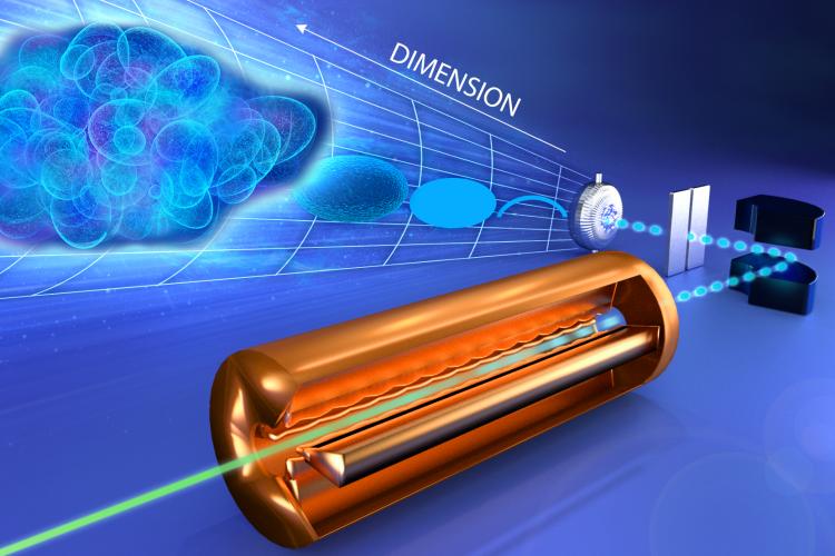 Ученые впервые измерили луч в пространстве 6D