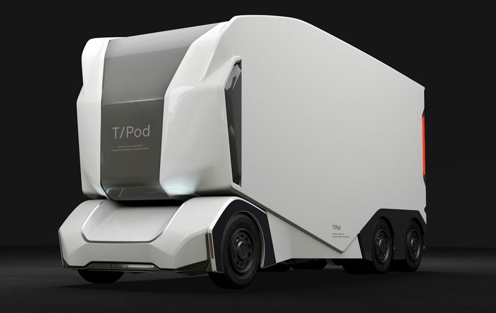 Создан беспилотный грузовик для перевозки древесины
