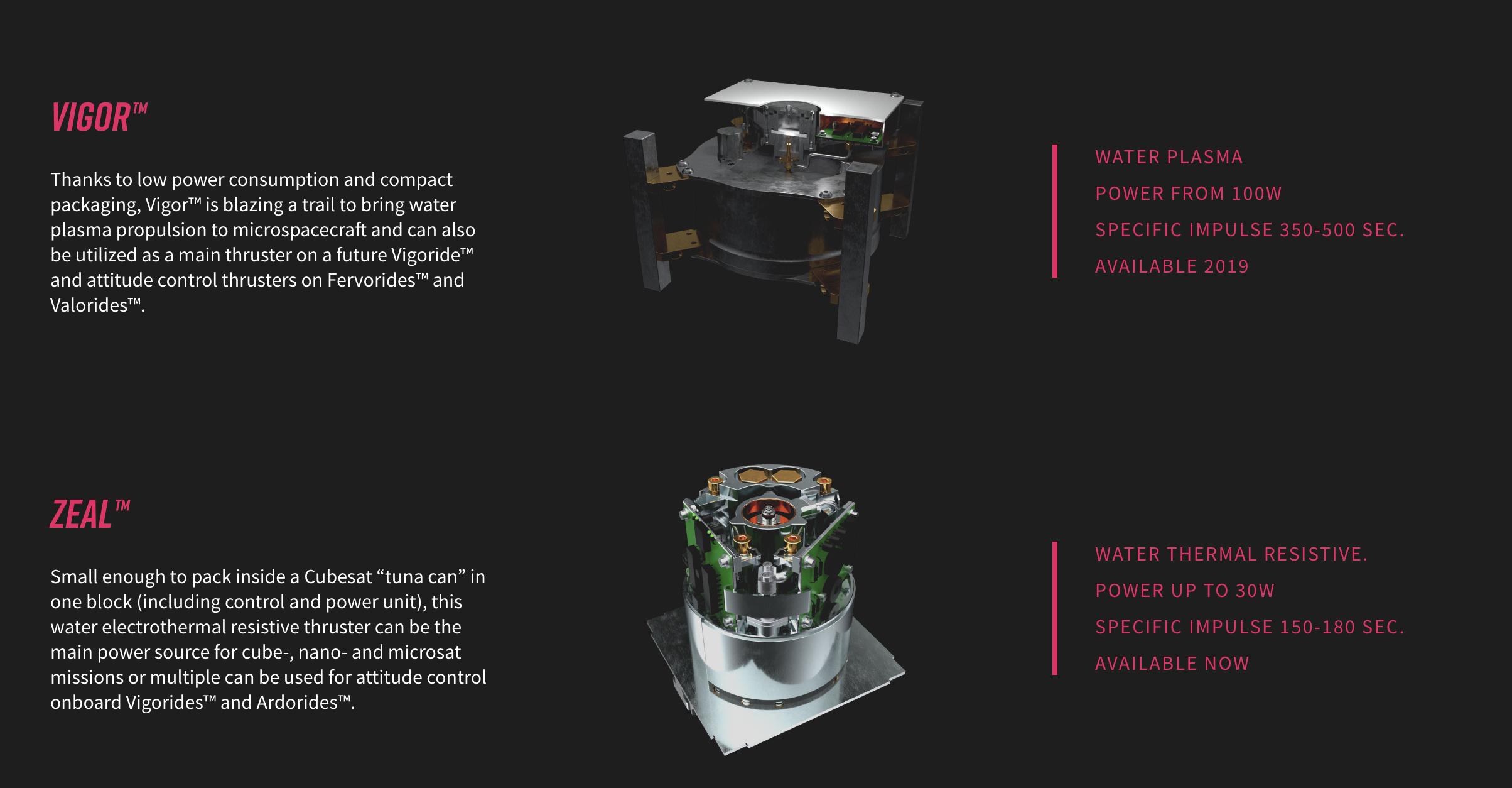 Создан космический двигатель на воде