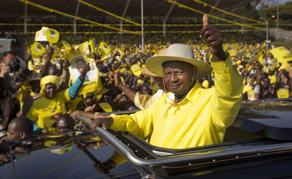 Президент Уганды за блокчейн