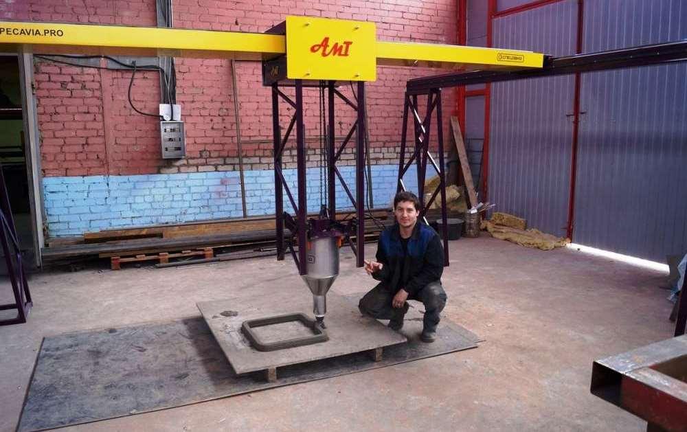 В Ярославле начали печатать высотные дома на 3D принтере