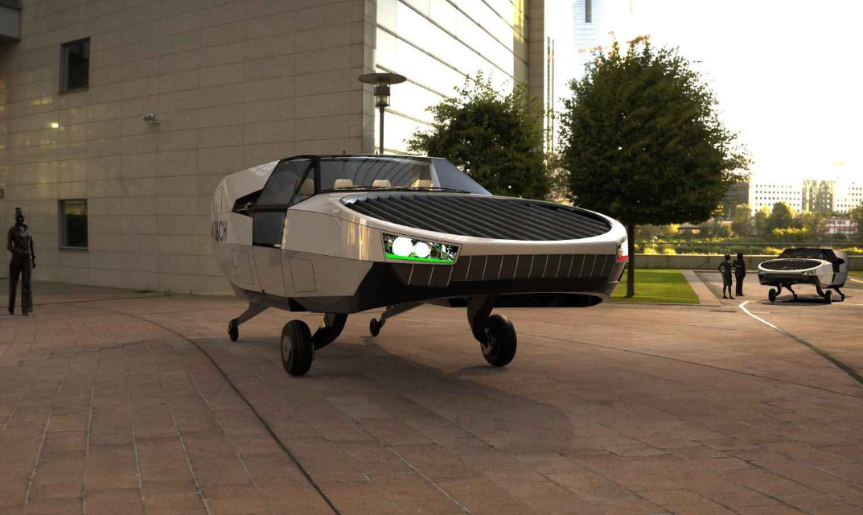Urban представила проект летающего автомобиля