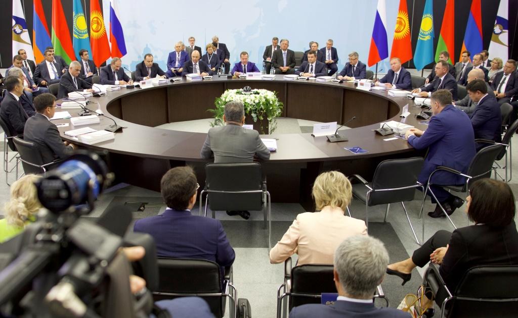На заседании ЕАЭС обсудили внедрение цифрового контроля товаров