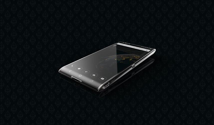 Новый смартфон с функцией холодного кошелька