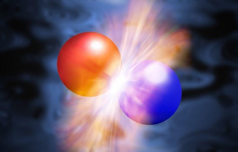 Антиматерия: цвет и структура