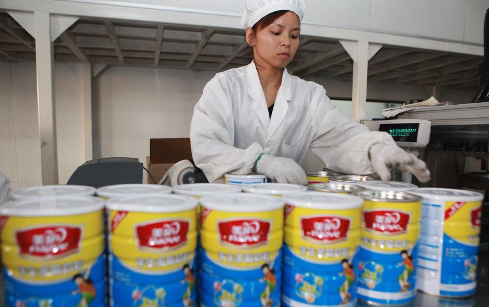 Китайский производитель продуктов питания внедрит блокчейн в производство и логистику
